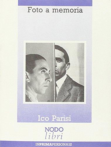9788871850160: Foto a memoria (InPRIMApersona) (Italian Edition)