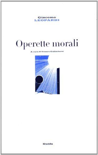 9788871882925: Operette morali