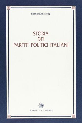 9788871884950: Storia dei partiti politici italiani