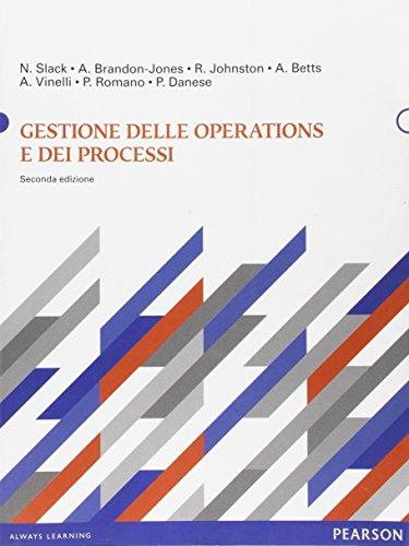 9788871929477: Gestione delle operations e dei processi