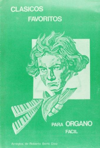 9788872070840: Clasicos Favoritos Para Organo Facil, Volumen 1