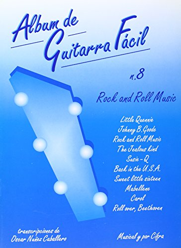 9788872073018: Album de Guitarra Fácil N.08 - Rock and Roll Music