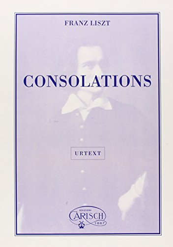 9788872073933: Franz Liszt: Consolations, for Piano