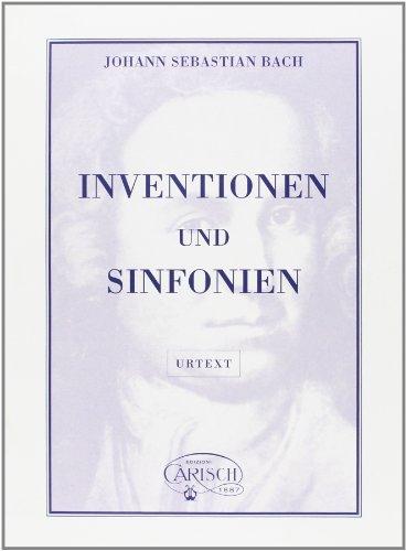 Inventionen + Sinfonien Bwv 772-801: Bach Johann Sebastian