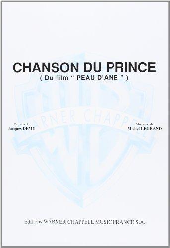 9788872078303: CHANSON DU PRINCE