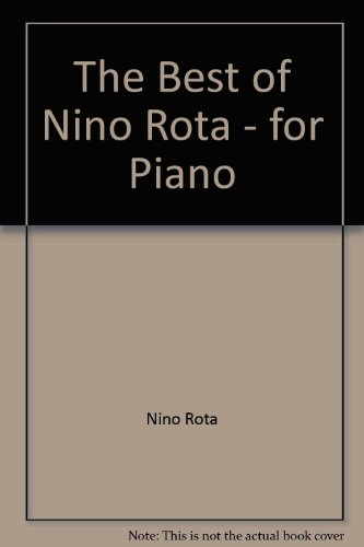 9788872078402: The Best of Nino Rota - for Piano