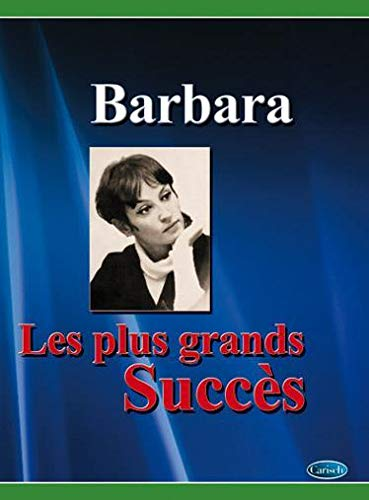 9788872079690: Barbara - les Plus Grands Succes (chant + piano + accords)
