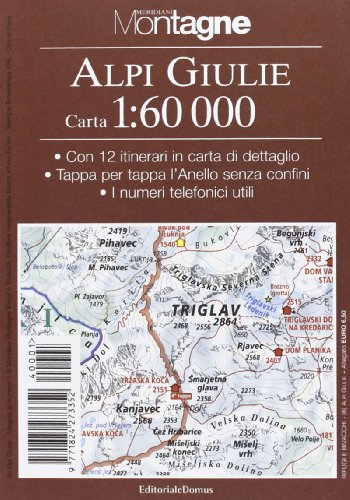 9788872124420: Alpi Giulie. Con carta 1:60.000