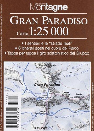 9788872124918: Gran Paradiso. Con carta 1:25.000