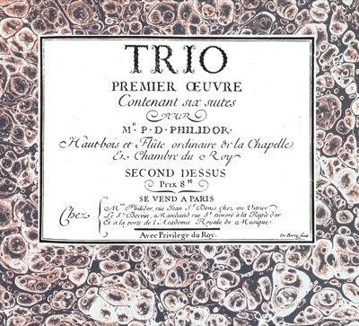 9788872426111: Partitions classique SPES PHILIDOR - TRIO, PREMIER ?UVRE Ensemble vents