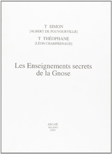 9788872522127: Les enseignements secrets de la gnose (Archives)