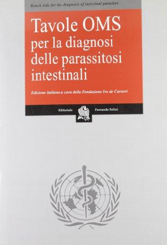 9788872660270: Tavole OMS per la diagnosi delle parassitosi intestinali