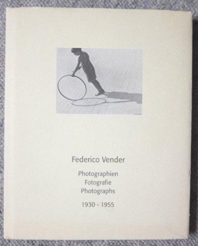 Photographien-Fotografie-Photographs 1930-1955 Vender, Federico