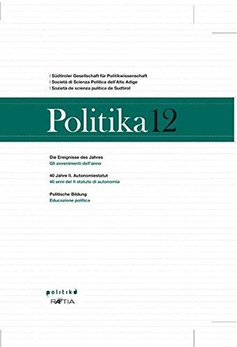Politika 12: Jahrbuch für Politik