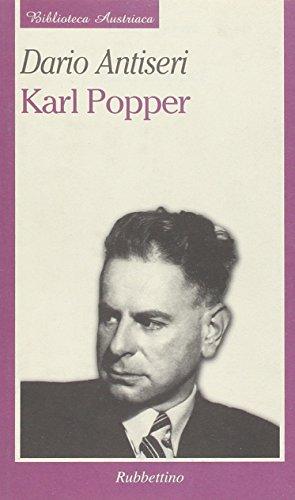 9788872847299: Karl Popper (Biblioteca austriaca)