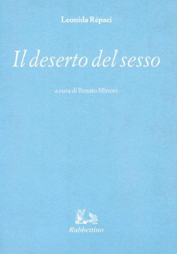 Il deserto del sesso: Leonida Rèpaci
