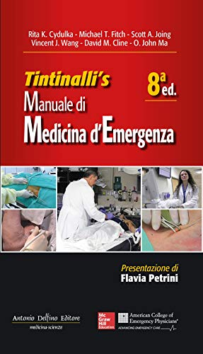 9788872876213: Tintinalli's manuale di medicina di emergenza 8ª Ed