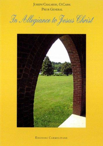 9788872880517: In allegiance to Jesus Christ: Ten conferences on Carmelita life