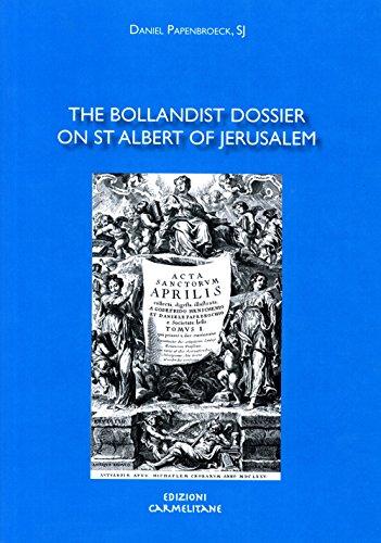 9788872881514: The Bollandist Dossier on St Albert of Jerusalem