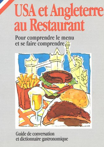 9788873011064: USA and UK au Restaurant (in French) (How to Eat Out in)