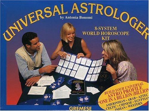 9788873011484: Universal Astrologer: 8-System World Horoscope Kit