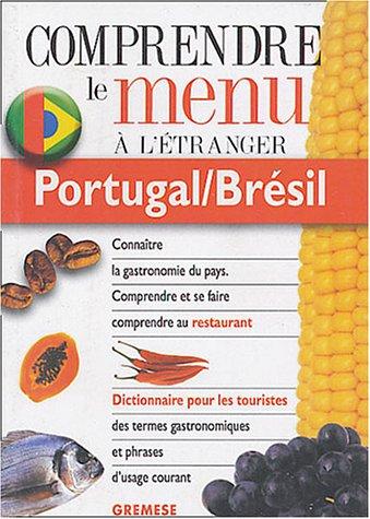 9788873015581: Portugal/Brésil : Pour comprendre et se faire comprendre au restaurant