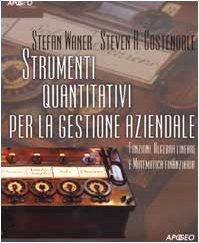 Strumenti Quantitativi per la gestione Aziendale: Funzioni: Stefan Waner and