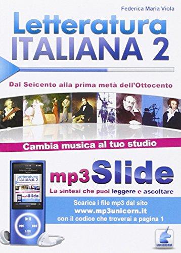 9788873126430: Letteratura italiana. Riassunto da leggere e ascoltare. Con file MP3: 2