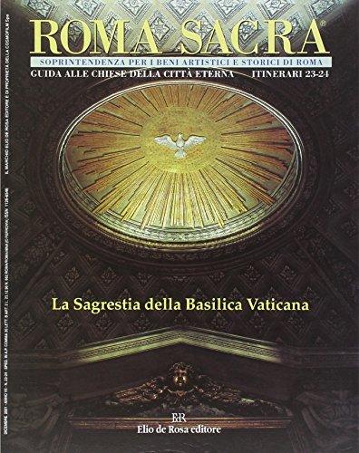9788873690399: Roma sacra. Guida alle chiese della città eterna: 23-24