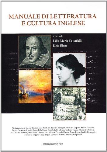 9788873952893: Manuale di letteratura e cultura inglese