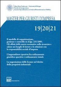 Master per Giuristi d Impresa Vol. 19-20-21.