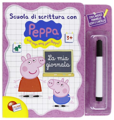 9788874303465: La mia giornata. Scuola di scrittura con Peppa Pig. Con gadget