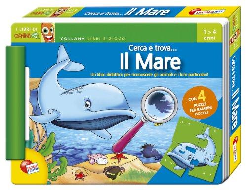 9788874304455: Il mare. Cerca e trova... Ediz. illustrata. Con puzzle
