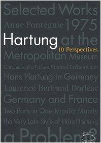 Hartung: 10 Perspectives: Hartung, Hans] Pontégnie,