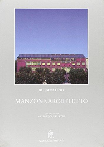 Manzone architetto: Ruggero Lenci
