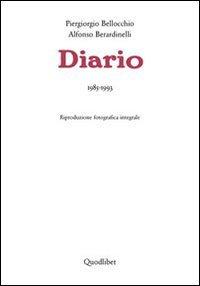 9788874622795: Diario. 1985-1993