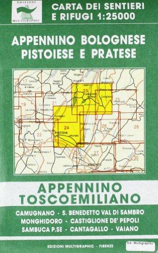 9788874650354: Appennino bolognese, pistoiese e pratese