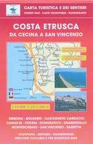9788874651733: Toskana Wanderkarte: Costa Estrusca da Cecina a San Vincenzo, Bibbona, Castagneto Carducci, Sassetta, Bolgheri, topographische Wanderkarte Blatt 539, 1:25.000