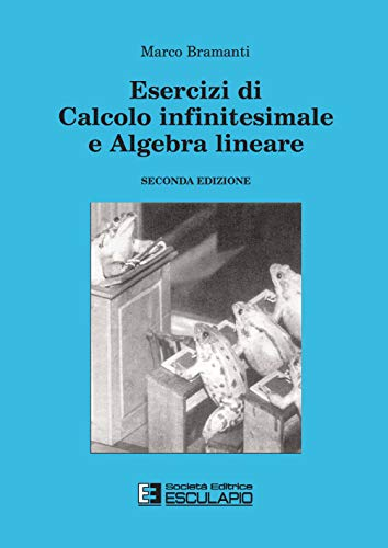 9788874880195: Esercizi di calcolo infinitesimale e algebra lineare