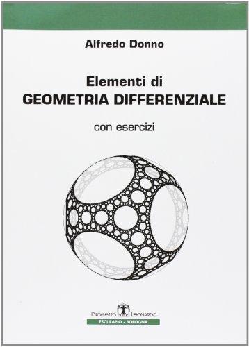 9788874883677: Elementi di geometria differenziale. Con esercizi