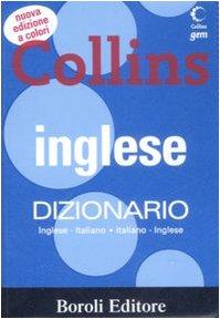 9788874932368: Inglese. Dizionario inglese-italiano, italiano-inglese