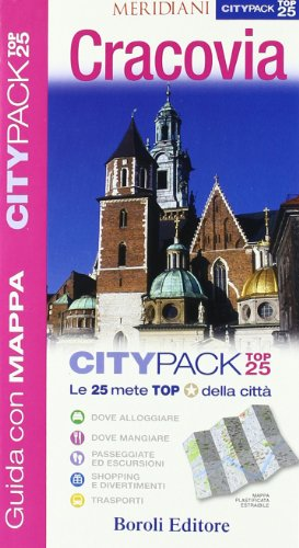 9788874933020: Cracovia. Con cartina (Citypack Top 25)