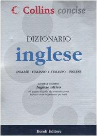 9788874937035: Dizionario inglese. Inglese-italiano, italiano-inglese. Ediz. bilingue (Collins concise)