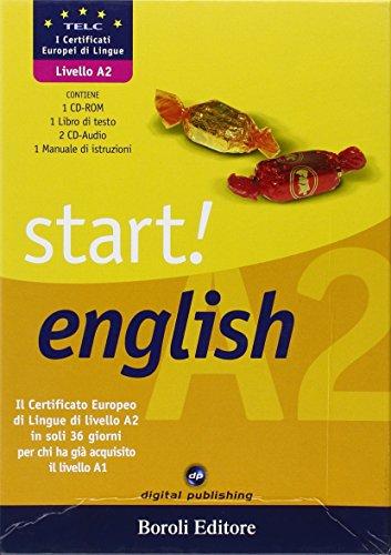 9788874938414: Start! English A2. Con CD-ROM. Con 2 CD Audio (Corsi di lingua)