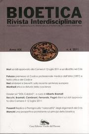 9788875031664: Bioetica (2011) vol. 4