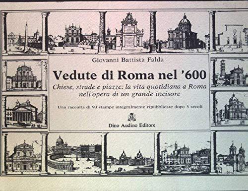 9788875272760: Vedute di Roma nel '600 (Vedute d'Italia)