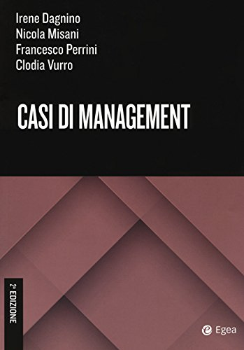 9788875341688: Casi di management