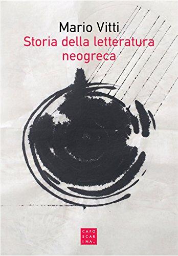 9788875434007: Storia della letteratura neogreca