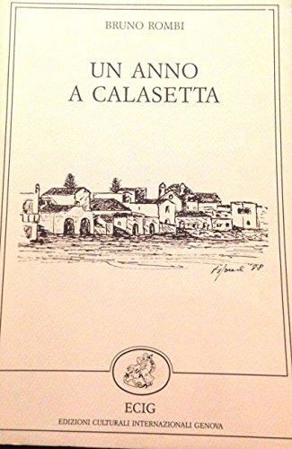 9788875452087: Un anno a Calasetta