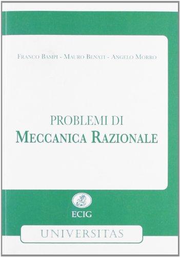 9788875456863: Problemi di meccanica razionale